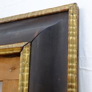Detailaufnahme des Rahmens vor der Restaurierung