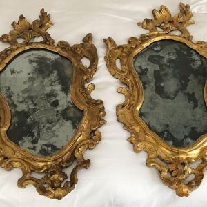 Vorher-Nachher-Effekt der Reinigung bei den Spiegelrahmen