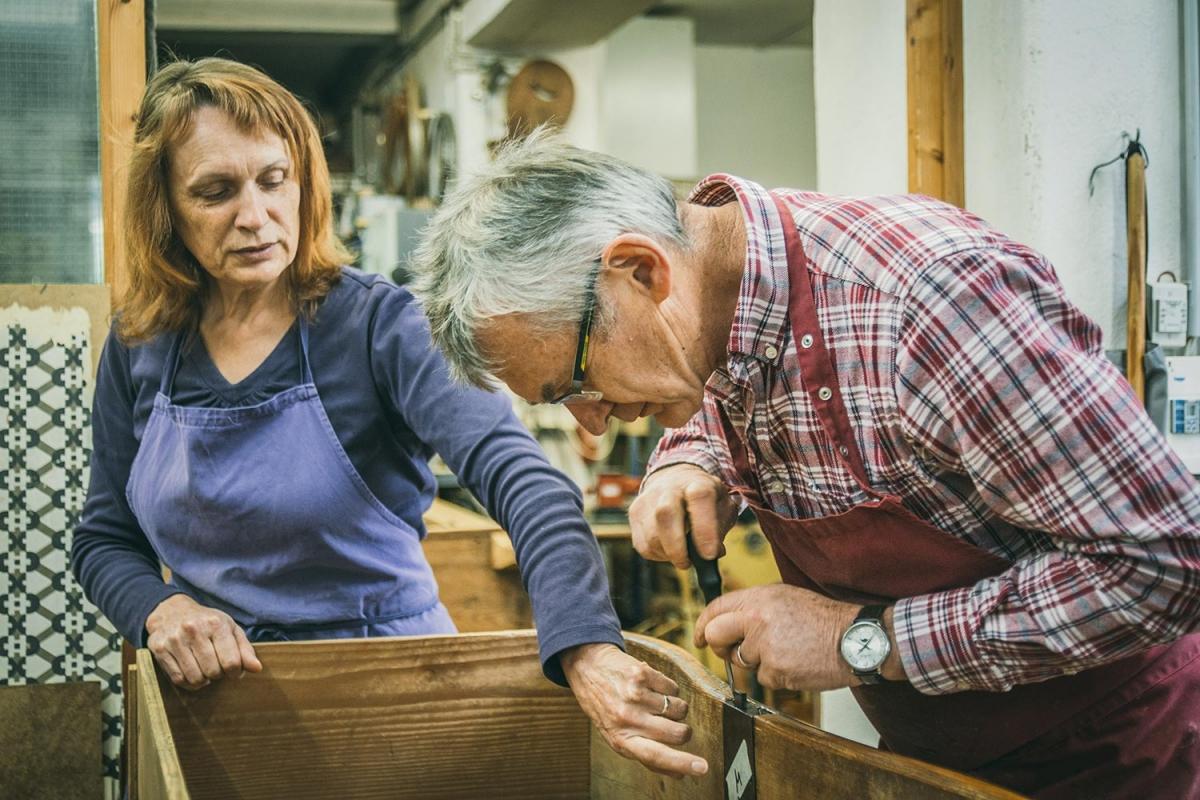 Zita und Franz Xaver Beer | Restaurierungswerkstatt
